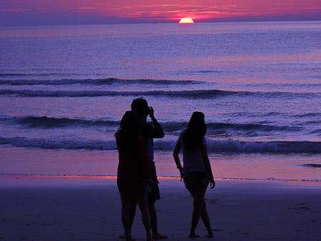 tourism beach island thailand