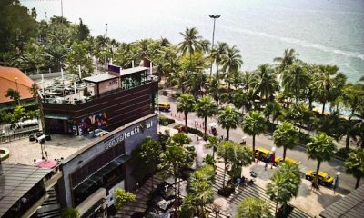 The coming of big shopping mall, Central Festival Pattaya was a big jump for Pattaya City.