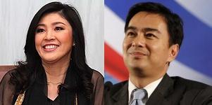 yingluck vs abhisit