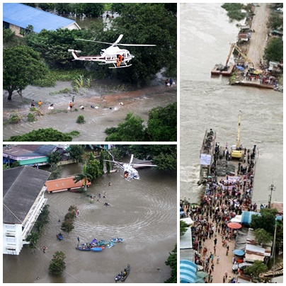 Assistance for Flood Victims Steps up