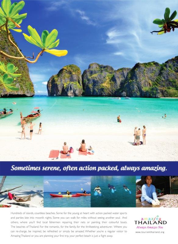 TAT amazing thailand campaign