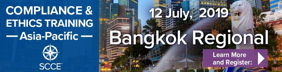 Compliance and ethics Training Asia-Pacific Bangkok regional