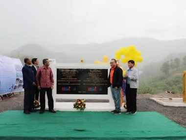 Thailand sets up mountain area water supply for Lao villagers