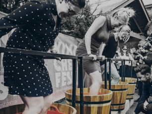 Guerrilla Media grape stomping