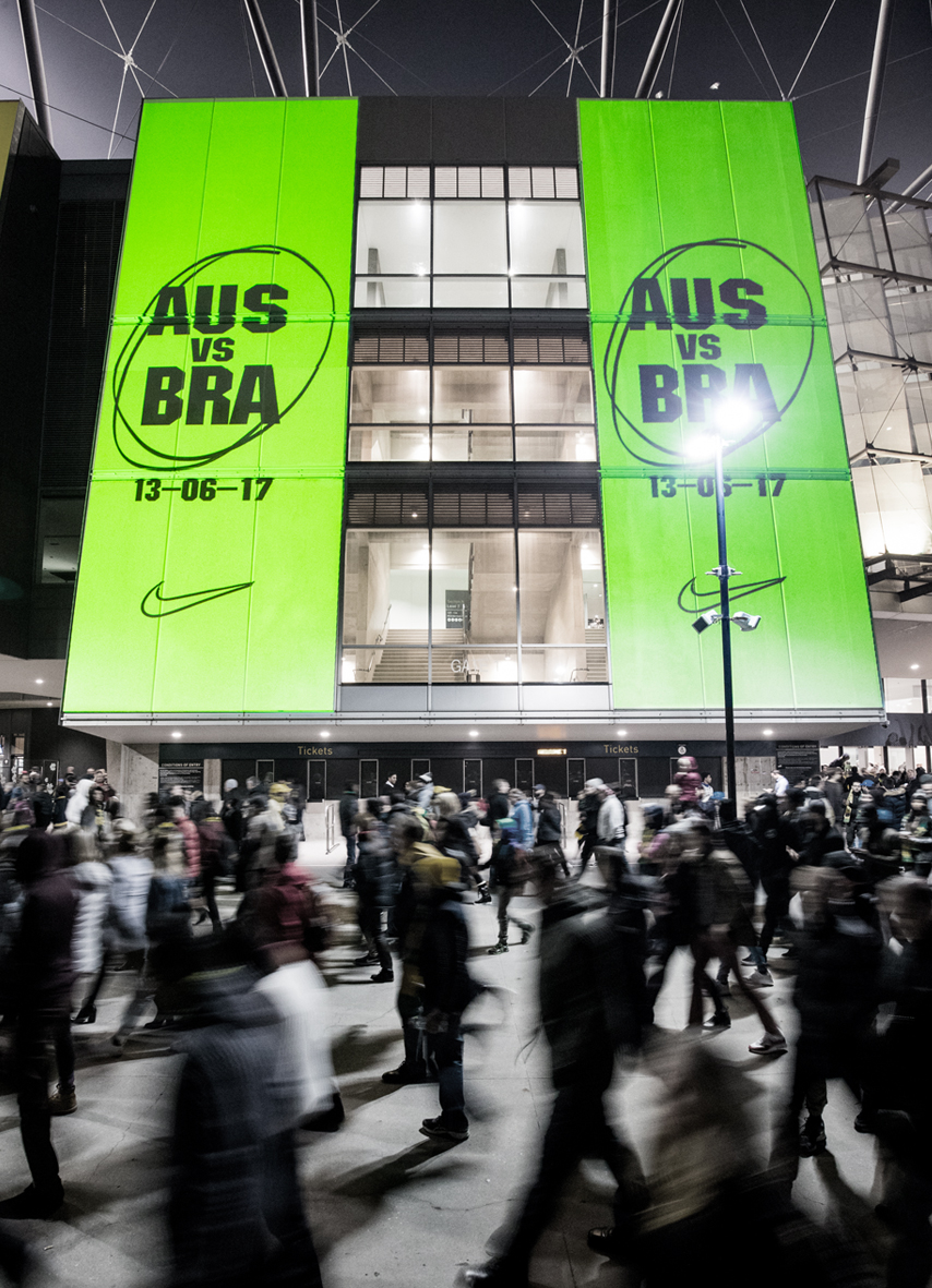 Event Activation Australia vs Brazil Nike