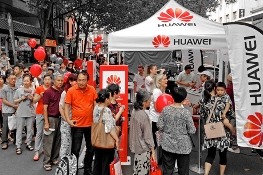 Brand Activation for Huawei Phones