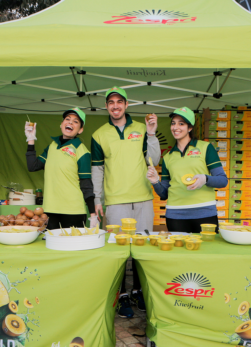 Event Sponsorship for Zespri