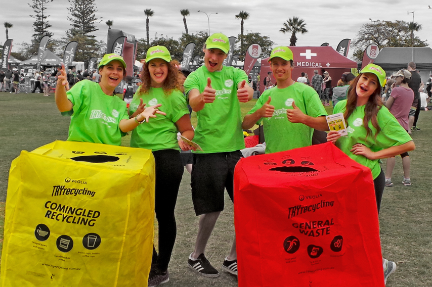 Sponsorship Activation for Try Recycling