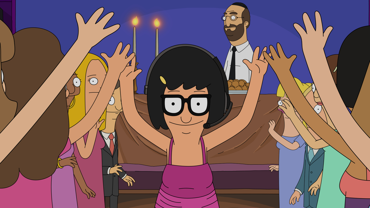 Bob's Burgers; Tina may not always have her exuberance under control, but then: why should she?