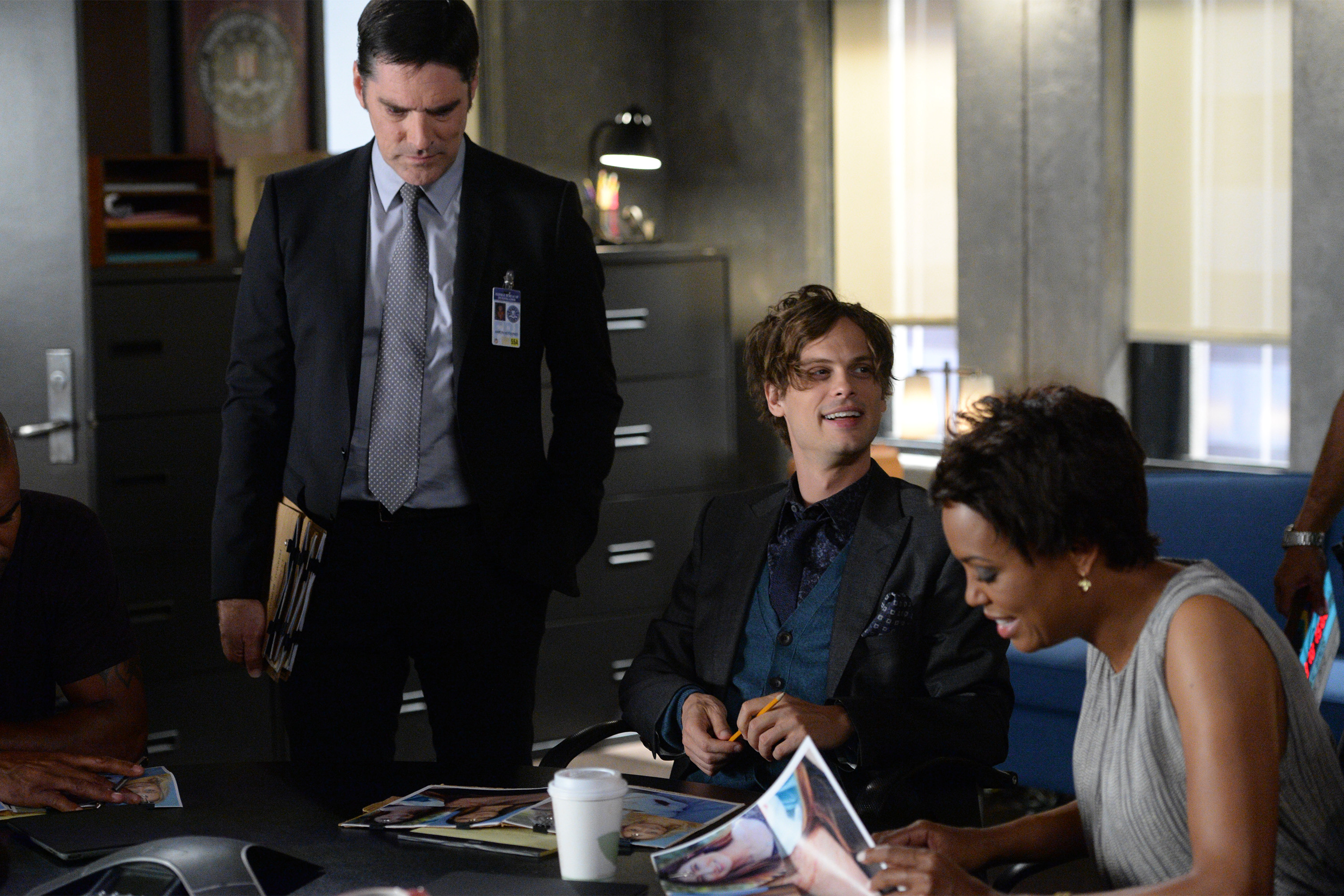 "CRIMINAL MINDS - 'Til Death Do Us Part"" - Brides-to-be are murdered on the eve of their nuptials in Savannah and a jilted lover is suspected, on ""Criminal Minds"" airs on CBS, WEDNESDAY, OCTOBER 14 (9:00-10:00 p.m., ET). (ABC Studios/Darren Michaels)"