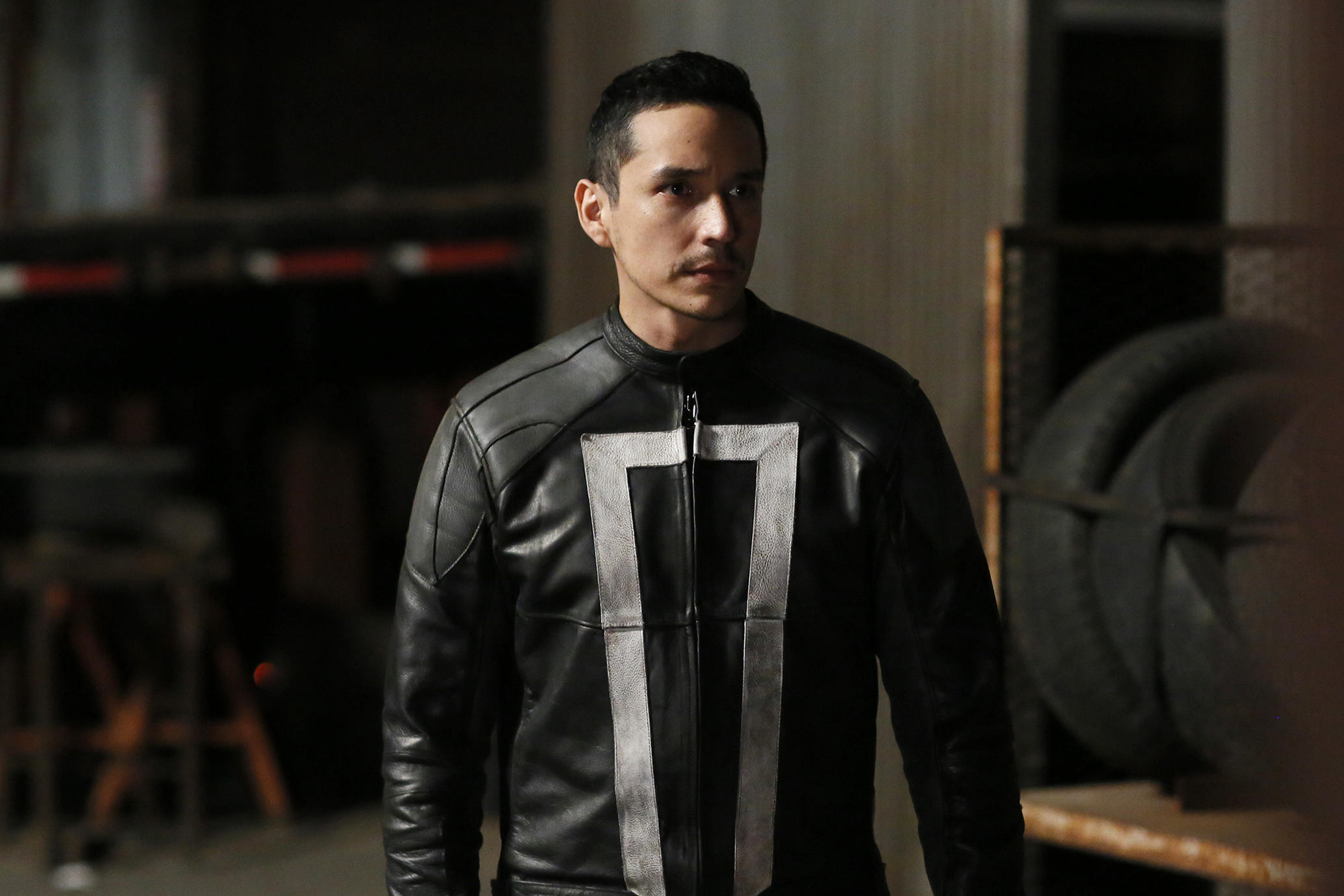 """MARVEL'S AGENTS OF S.H.I.E.L.D. - """"The Ghost"""" - In the season premiere episode, """"The Ghost,"""" Ghost Rider is coming, and S.H.I.E.L.D will never be the same. """"Marvel's Agents of S.H.I.E.L.D."""" returns with a vengeance for the fourth exciting season in an all-new time period, TUESDAY, SEPTEMBER 20 (10:00-11:00 p.m. EDT), on the ABC Television Network. (ABC/Jennifer Clasen)"""