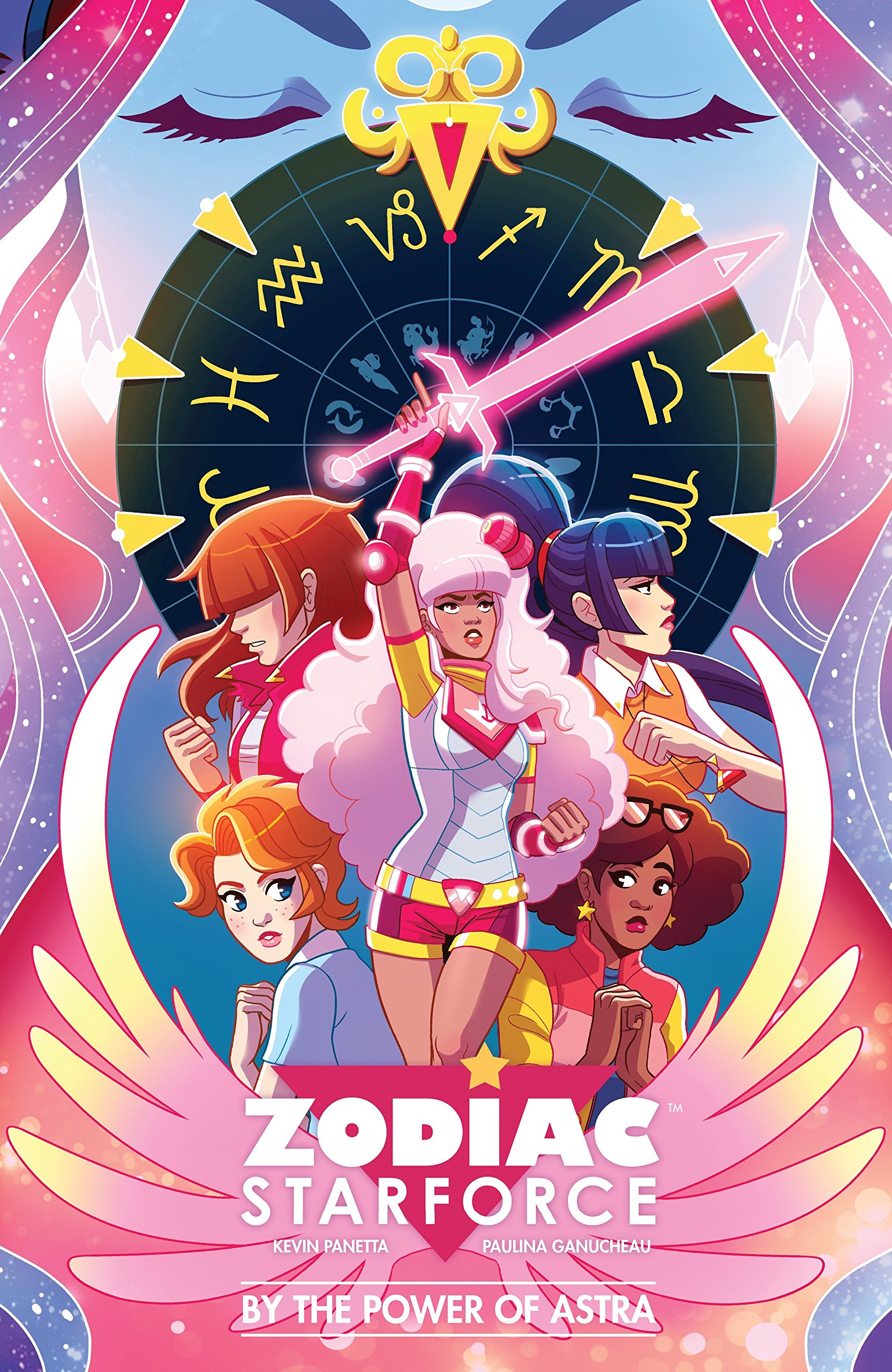 Zodiac Starfoce, deconstructive comics