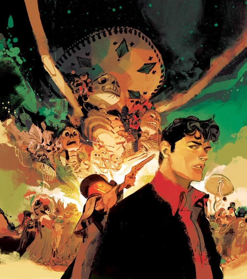 Dylan Dog Cover by horror cartoonist Gigi Cavenago