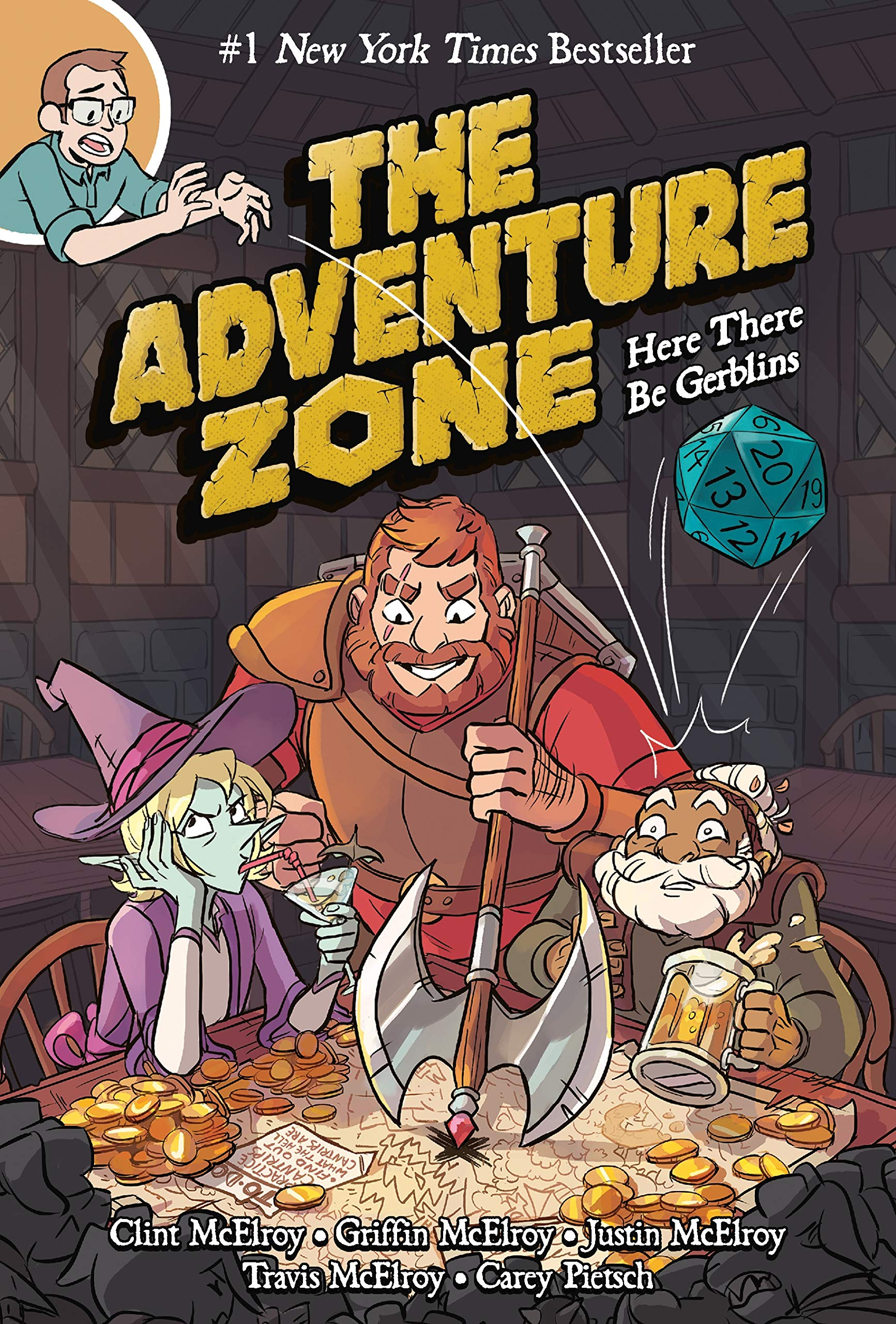 Dungeons and Dragons Comics, The Adventure Zone
