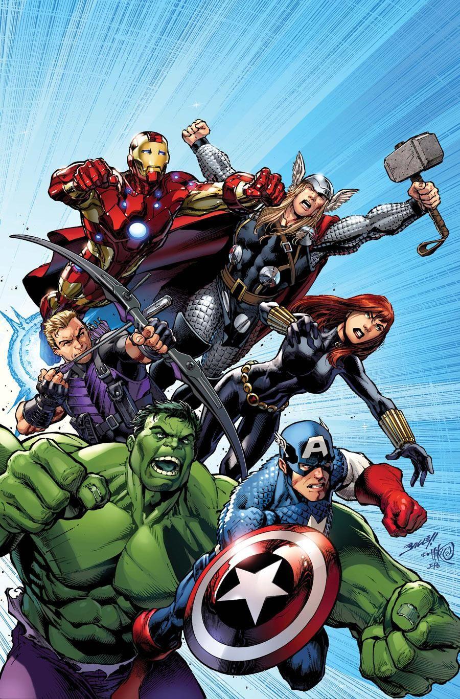 Earth's mightiest heroes