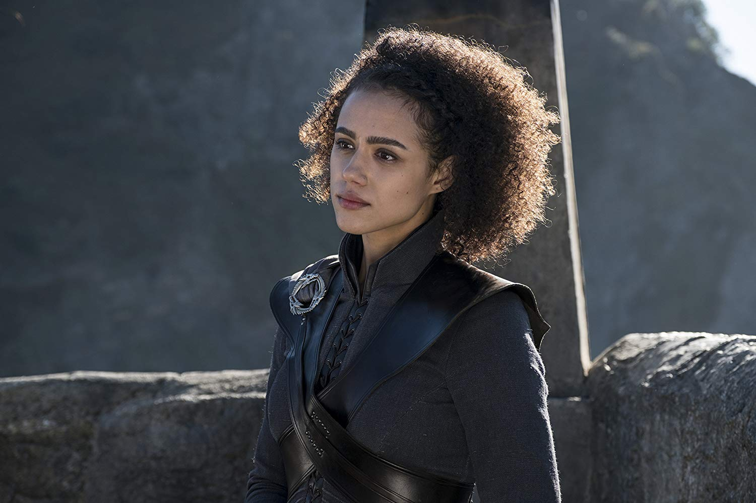 missandei of naath on dragonstone as majordomo to daenerys targaryen