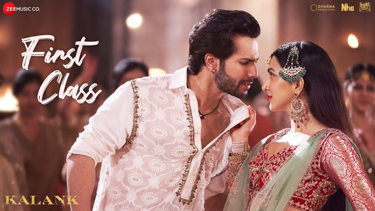 "Promotional image for ""First Class"" from Kalank, International songs"