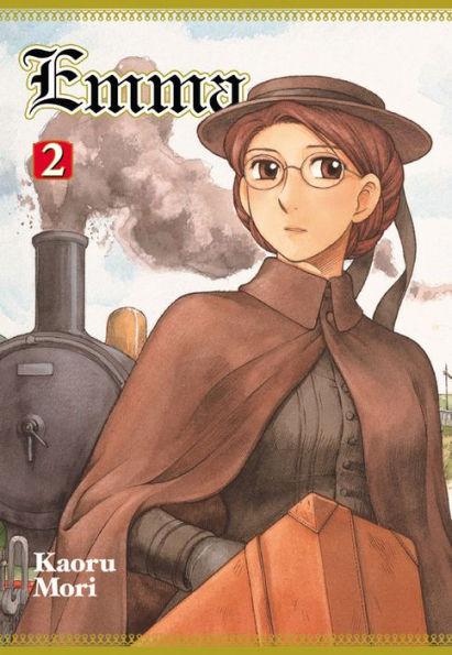 YenPress' cover art of Emma volume two.
