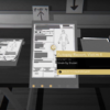 A screenshot of Night Call depicting how the evidence appears in the apartment.