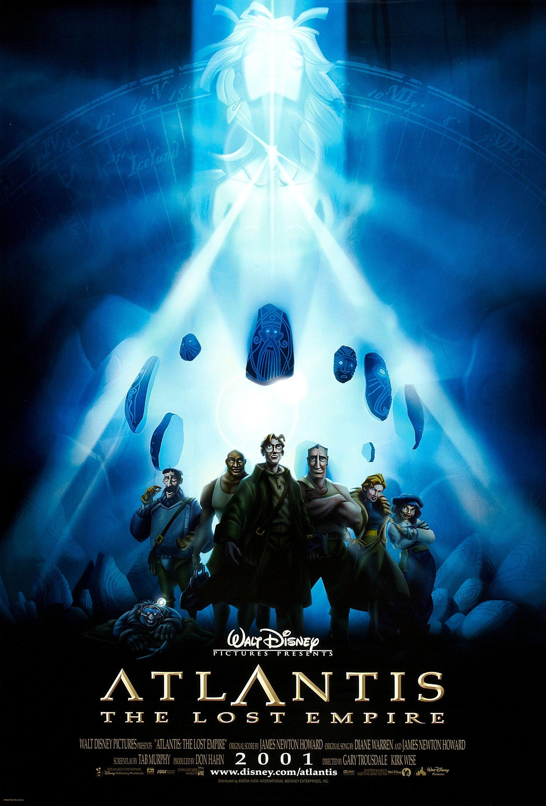 Walt Disney's Atlantis movie poster.