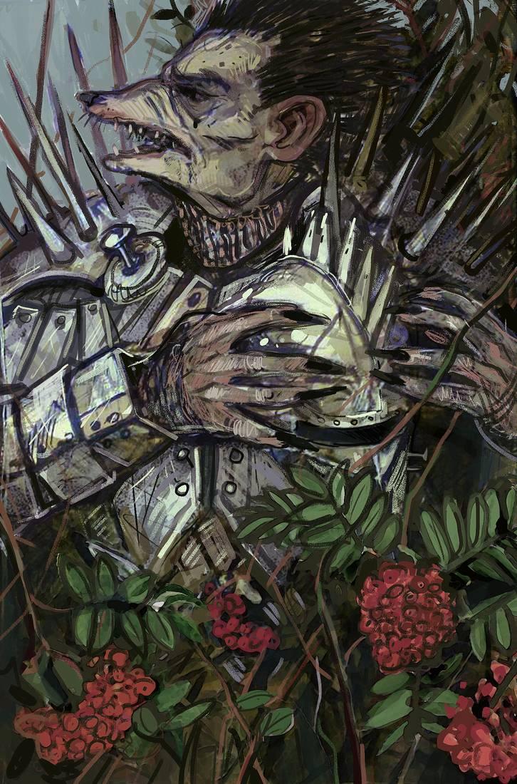 Emhyr var Emreis cursed to look like a hedgehog in The Witcher Saga