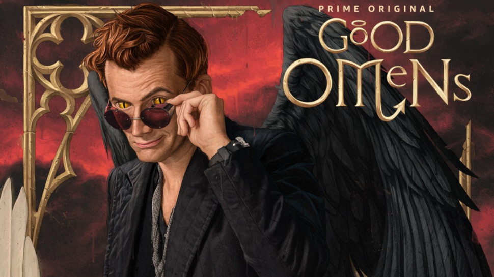 Amazon promotional image for Good Omens.