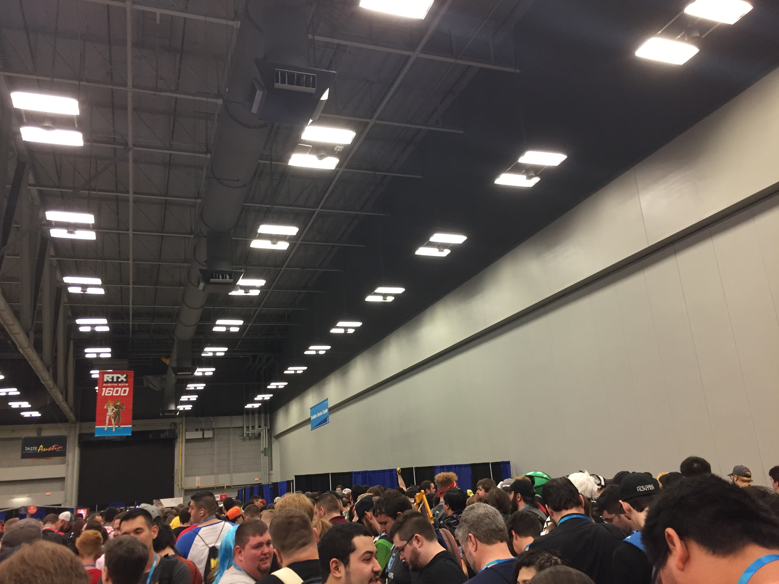 Crowds excited for RTX 2019.