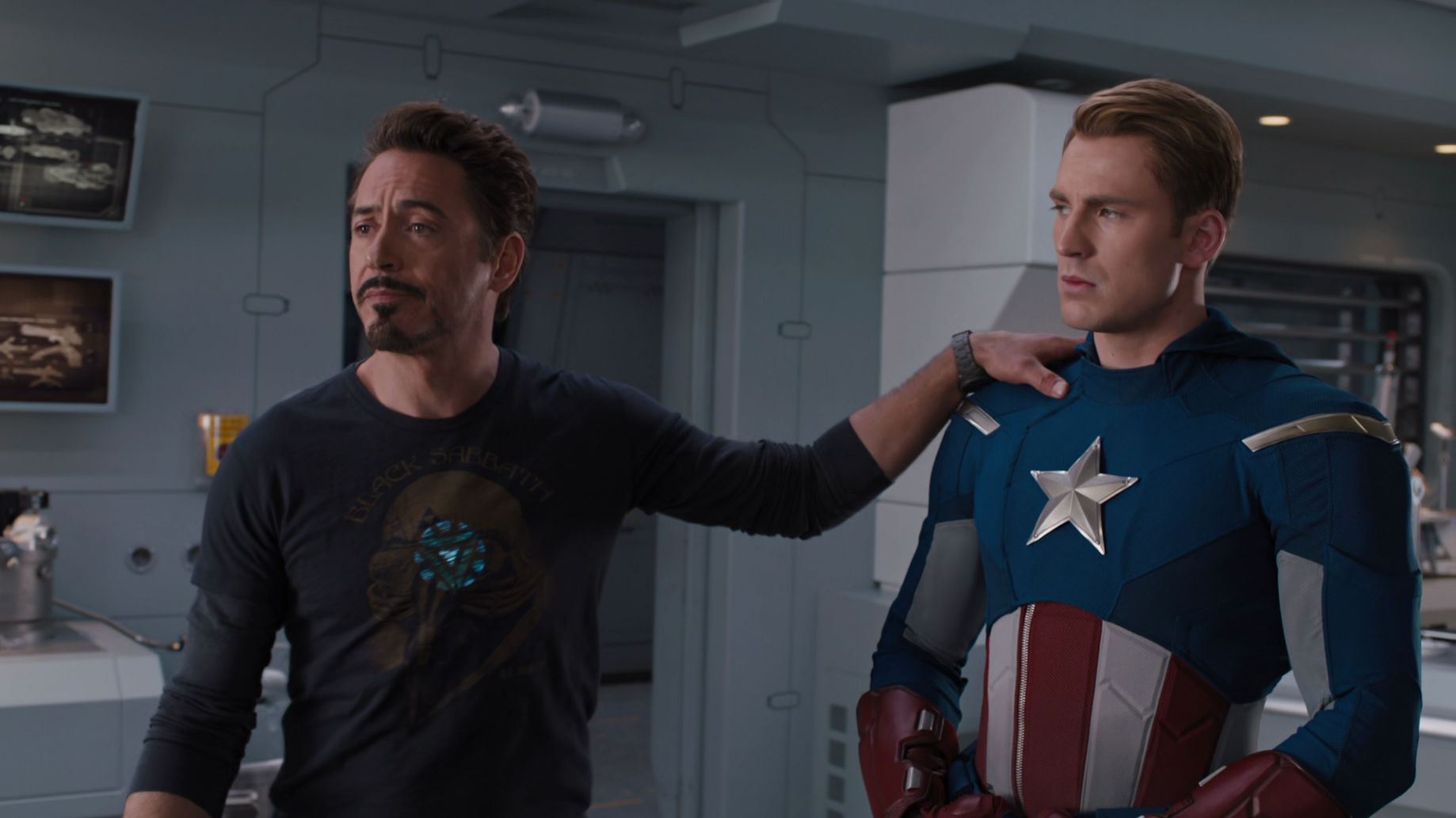 Tony Stark's legacy also includes taunting his teammates.