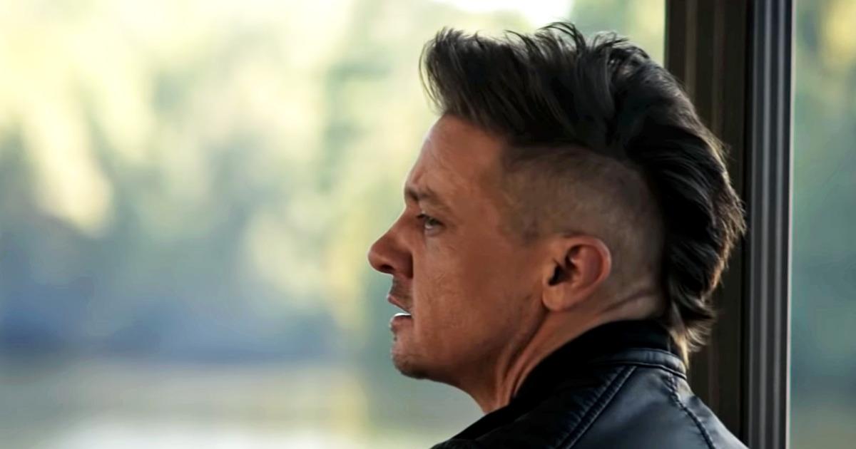 Clint Barton has a new haircut.