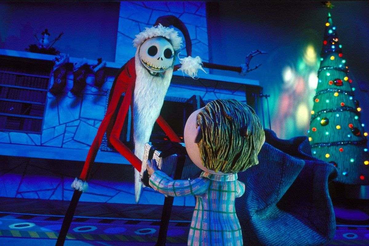 The Nightmare Before Christmas, Touchstone Pictures, Skellington Productions, and Walt Disney Pictures 1993