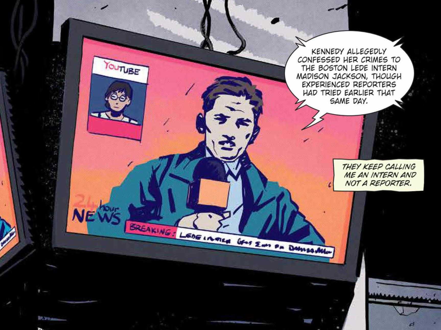 BURY THE LEDE, Page 6 Promo.