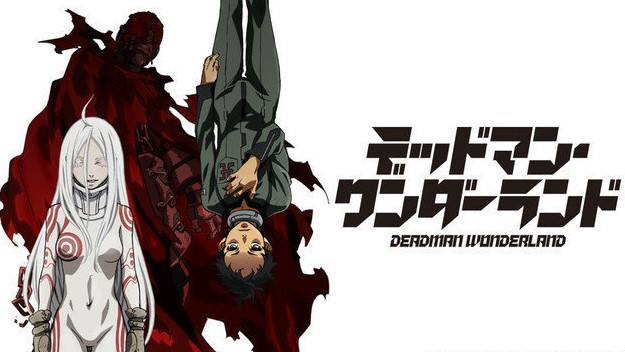 Standing from left to right: Shiro, the red man, Ganta.
