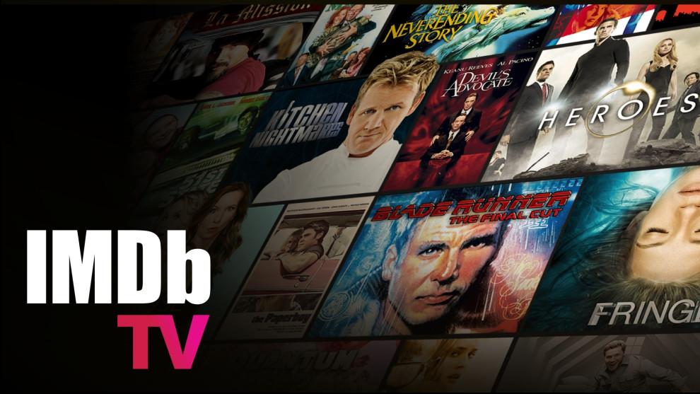 IMDb TV Title Page.