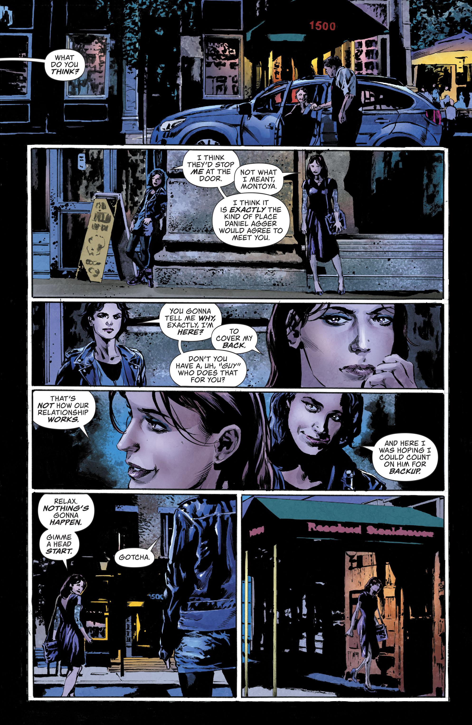 Lois and Renee talk.