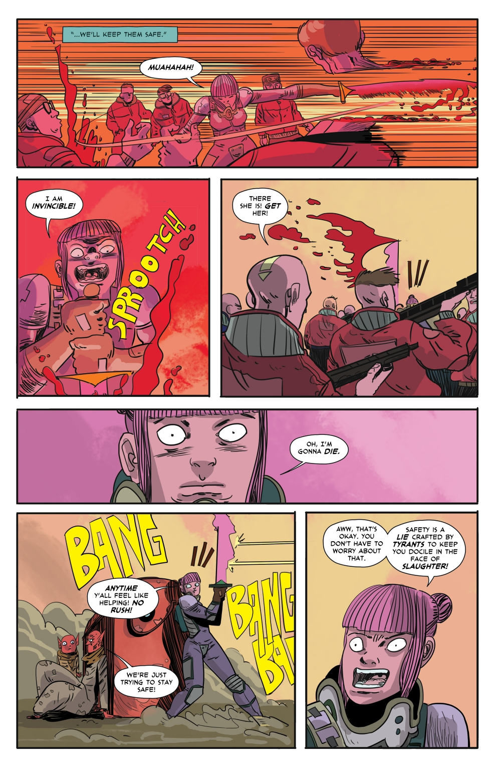 Gryffen: Galaxy's Most Wanted #6 Page 2.