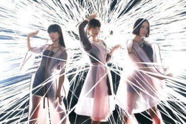 The main members of Perfume: Kashiyuka, A-Chan, and Nocchi
