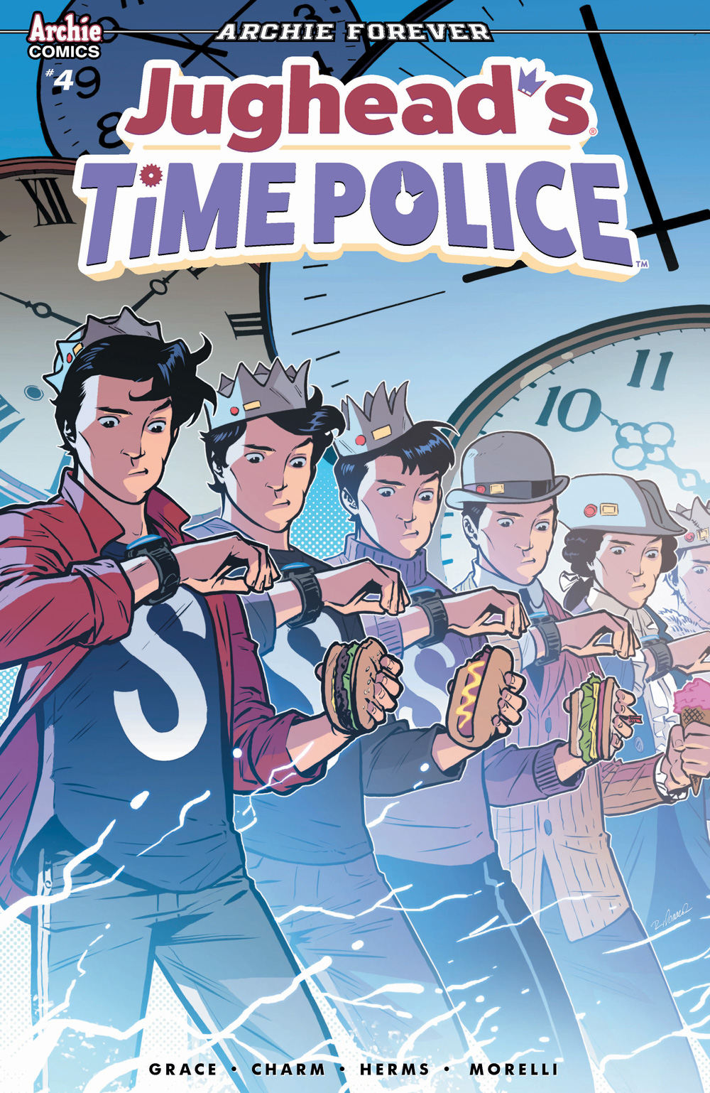 Time Police Archie Comics Cover, 2019.