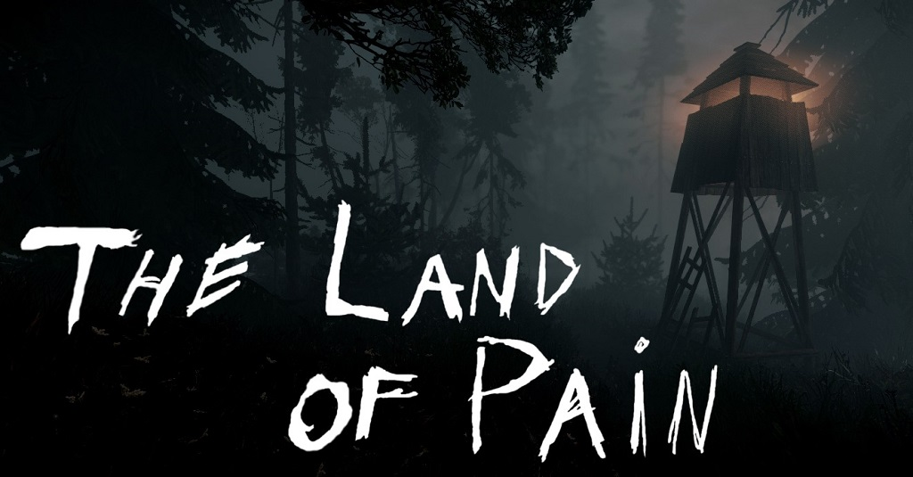 Dark forest and water tower: The Land of Pain: Horror Games