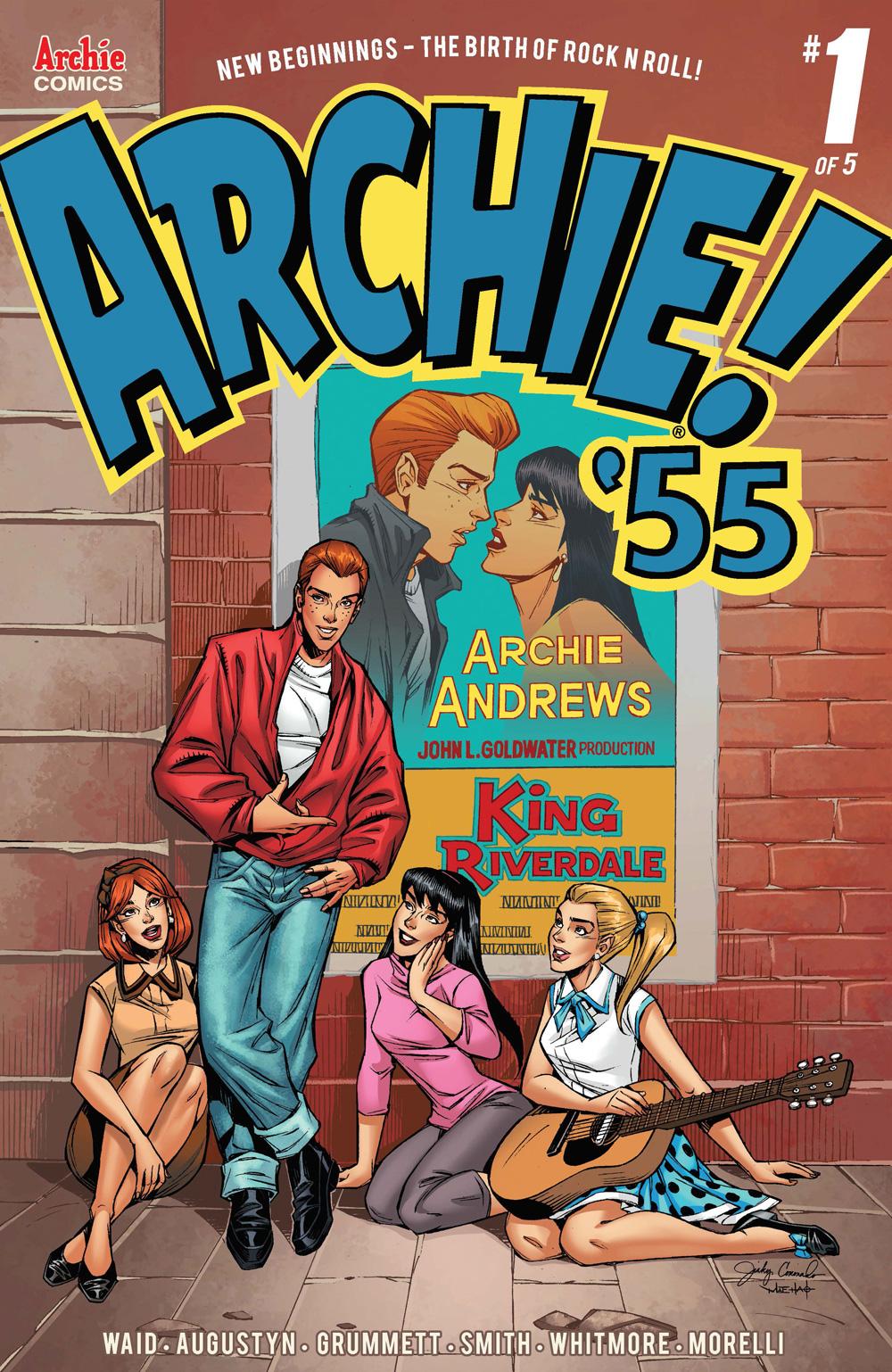 Archie 1955 #1 Alternate Cover by Jinky Coronado