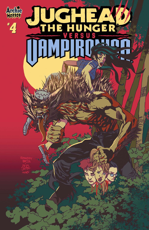Jughead the Hunger vs Vampironica #4, Archie Comics, 2019.