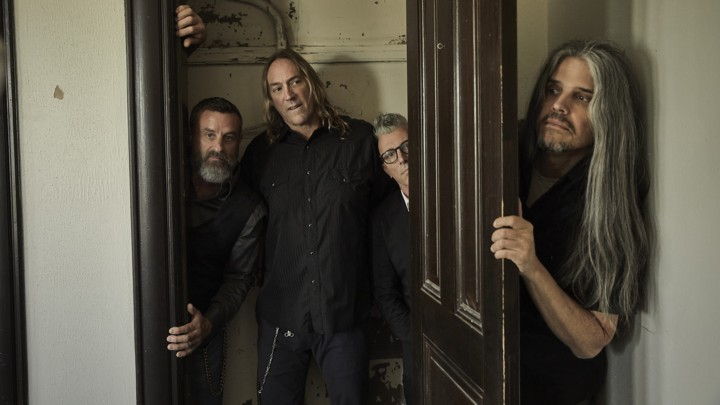 Fear Inoculum: Pictured (right to left): Adam Jones, Maynard James Keenan, Danny Carey, and Justin Chancellor.