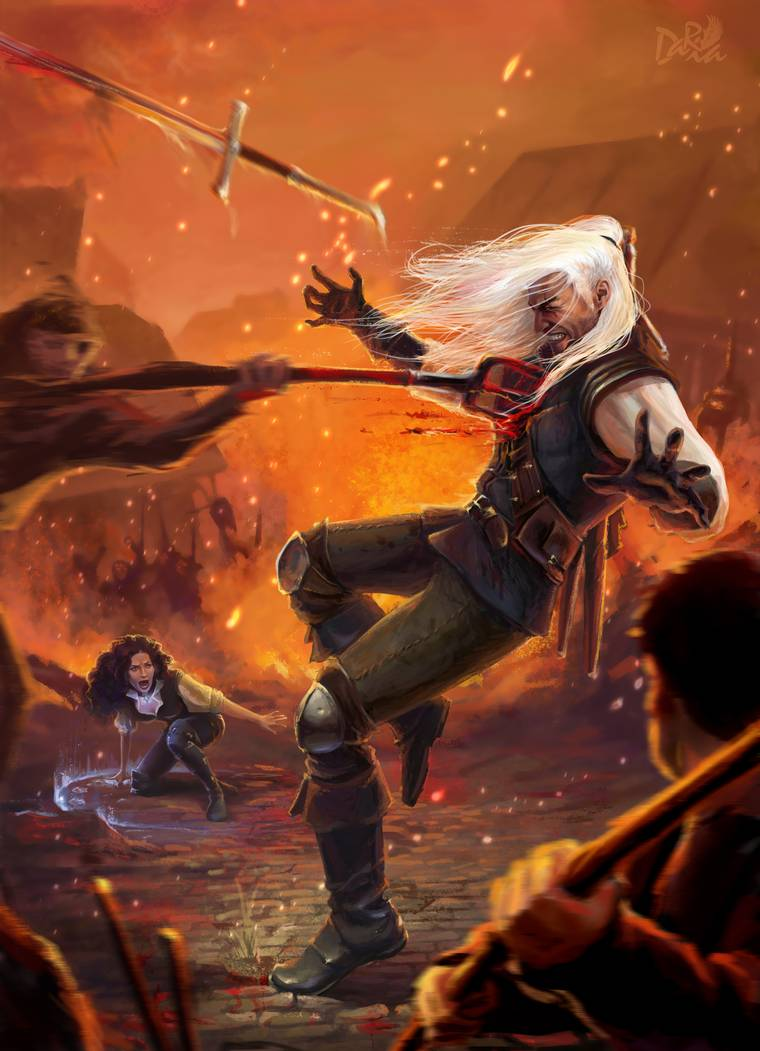 The death of Geralt