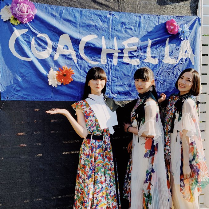 Japanese girl-group, Perfume, are the first Japanese artists to perform at Coachella in 2019.