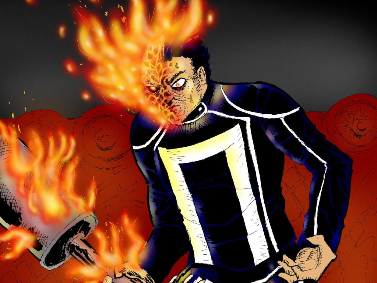 Latinx Superheroes, Ghost Rider.