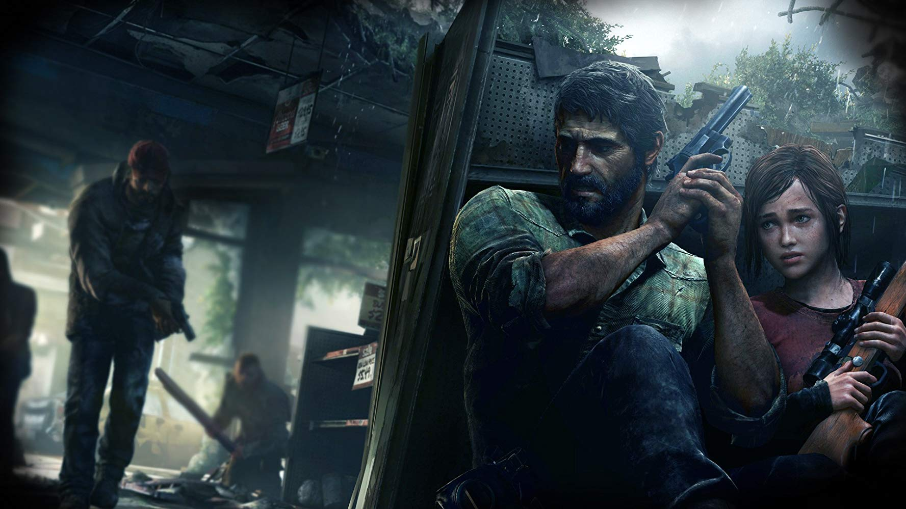 Promo for the video game The Last of Us