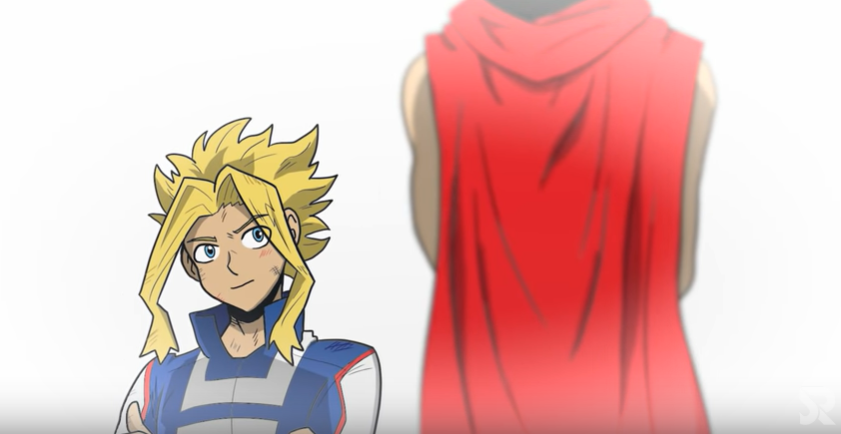 Abridged: Young All-Might argues with Nana Shimura in this short fan-animated sequence.