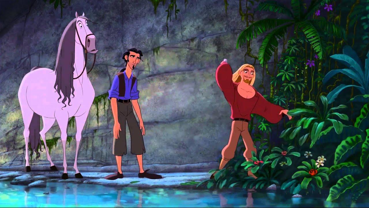 """Miguel, Tulio and Altivo from the millennials underrated film """"El Dorado."""""""