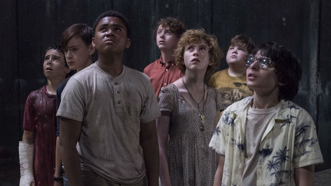 The Losers Club watching out for Pennywise
