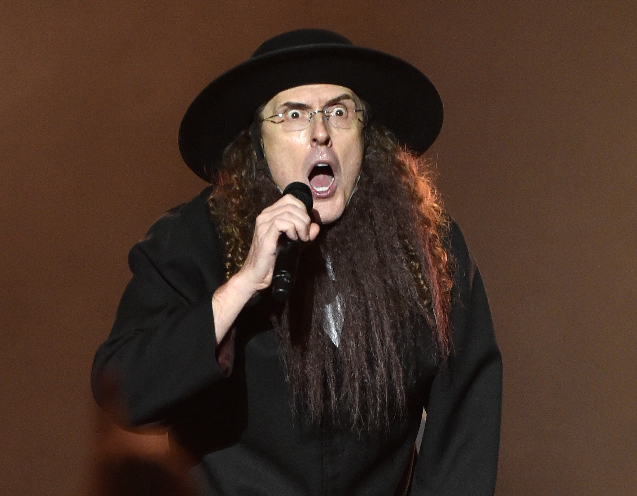 """Recording artist """"Weird Al"""" Yankovic performs at Planet Hollywood Resort and Casino."""