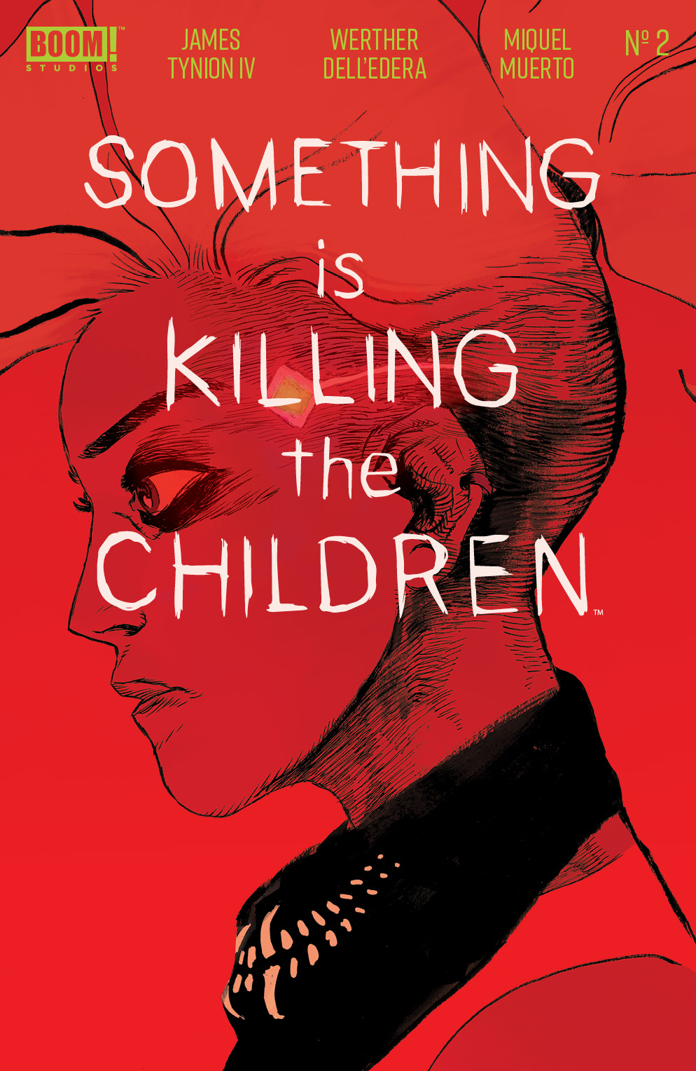 Something Is Killing The Children #2 Cover, BOOM! Studios.
